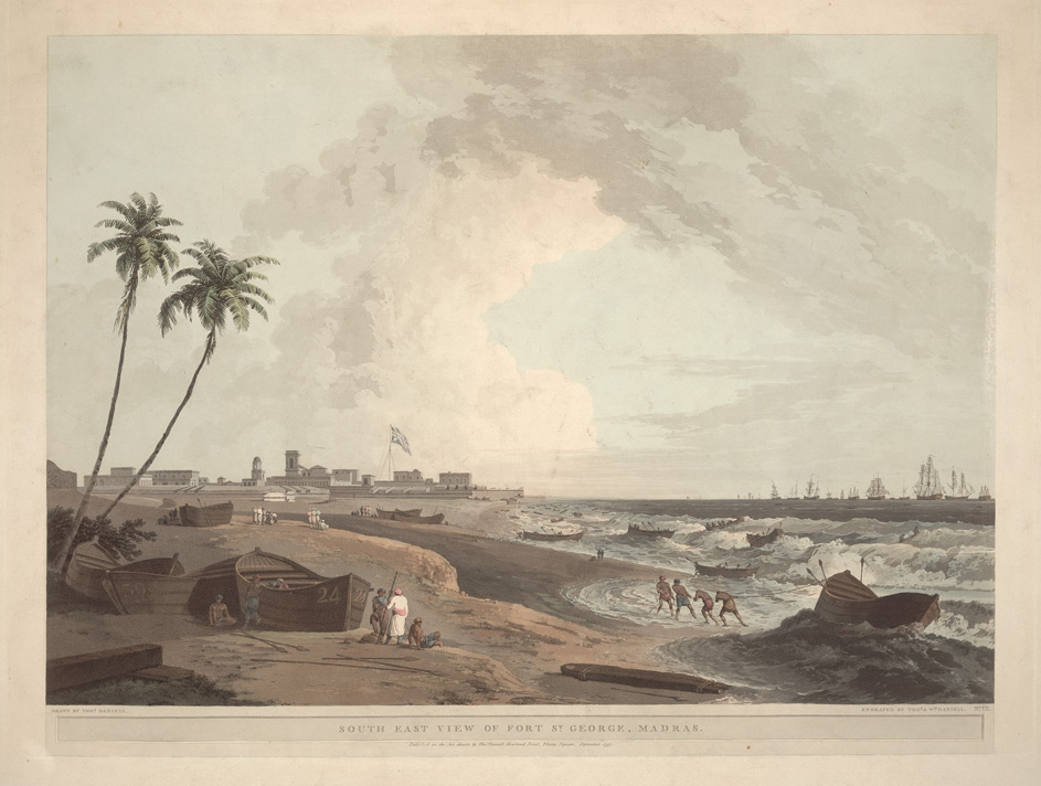 South East View of Fort St George, Madras
